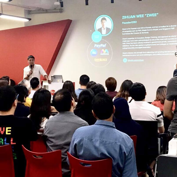 Zwee Wee Zihuan, speaker at the Ace Digital Transformation Exchange session. Digital expert, innovation consultant, Savant Degrees. image
