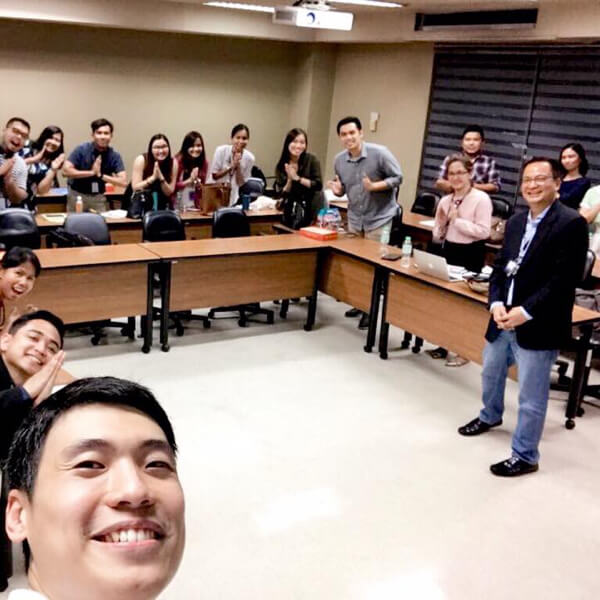 Zwee Wee Zihuan Guest Speaker at the Ateneo de Manila University in Philippines on Digital Transformation image