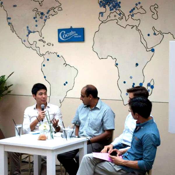 Zwee Wee Zihuan partnered with Paypal and Coastes to launch mobile payment in Asia. Digital expert / innovation consultant, Savant Degrees image
