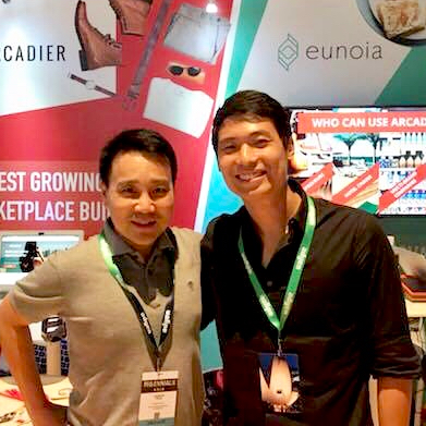 CEO Zwee Wee Zihuan at the Millennial 20/20 Asia Summit. Eunoia shortlisted as Ones-to-Watch. Digital expert, innovation consultant, Eunoia image