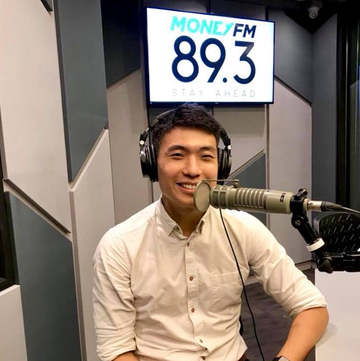 Zwee Zi Huan Wee shares his views on innovation and digital transformation on MONEY FM 89.3 – radio shows – digital transformation image